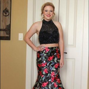 two piece Jovani formal/prom/homecoming dress